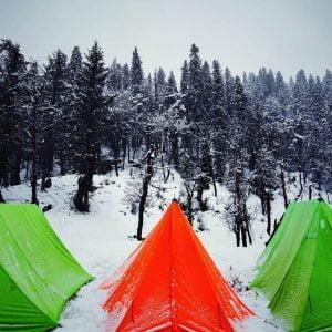 Kedarkantha camp site